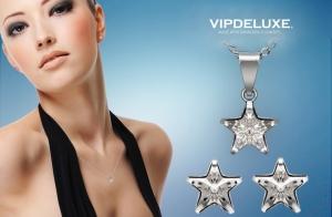 Conjunto Estrella made with Swarovski elements por 29 euros