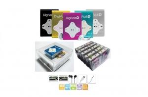 Reproductor MP3 con memoria de hasta 16 GB