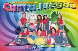 Festival Atlanta Canta Juegos con el grupo Golosinas