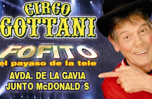 El Circo Gottani llega a Madrid con Fofito