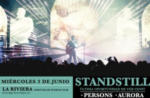 Entradas Concierto Standstill en Madrid