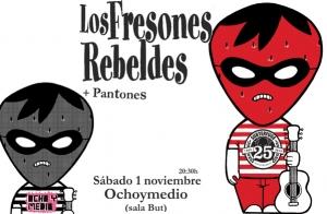 Entradas Los Fresones Rebeldes por 11 €