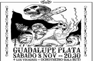 Entradas Guadalupe Plata + Los Vinagres por 9€